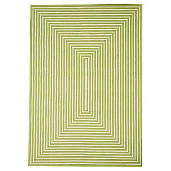 In- en outdoor carpet balkon / huiskamer vitaminic vlecht green 200 x 285 cm