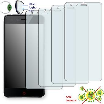 ZTE Nubia Z11 mini screen protector - Disagu ClearScreen protector (deliberately smaller than the display, as this is arched)