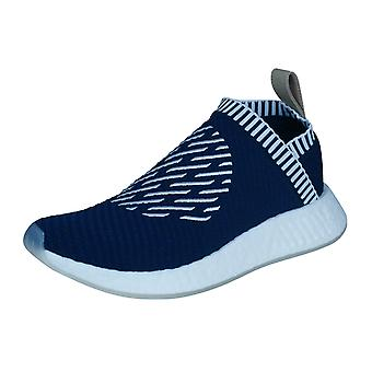 adidas NMD_CS2 PK Primeknit Mens Trainers / Shoes - Navy