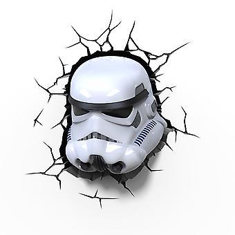 Star Wars Storm Trooper 3D Led lâmpada