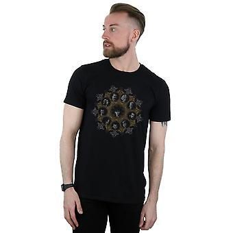 Carattere Crest t-shirt bestie fantastiche 2 maschile