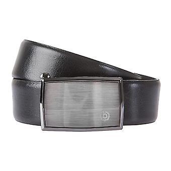 Bugatti belter menns belter lærbelte kan forkortes automatisk spenne svart 2126