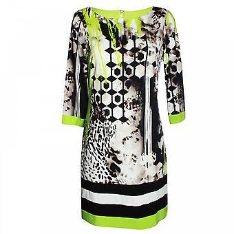 Frank Lyman Women's Long Sleeve Bold Printed Dress