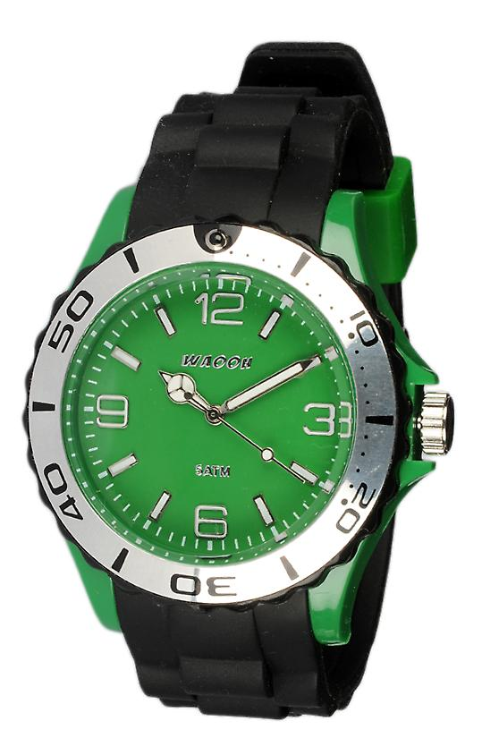 Waooh - Montre Silicone Bicolore Mc42