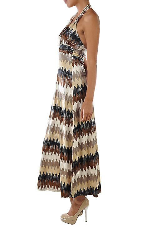 Waooh - Fashion - long patterned dress