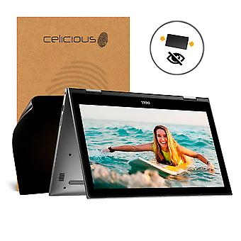 Celicious 2-weg Antispion-Privacy Screen Protector Film compatibel is met Dell Inspiron 15 5568 filteren