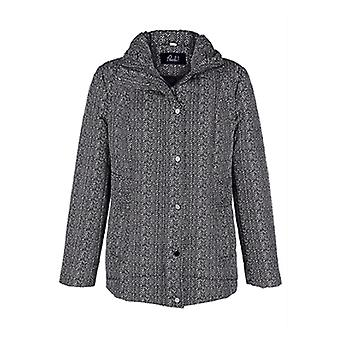 Paola fashionable ladies jacket in the current print design in black and white