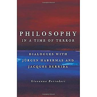 Filosofi i en tid med Terror: dialoger med Jürgen Habermas og Jacques Derrida
