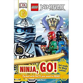 DK czytelników L2: Lego Ninjago: Ninja, Go!