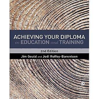 Erreichen Ihr Diplom in aus- und Weiterbildung