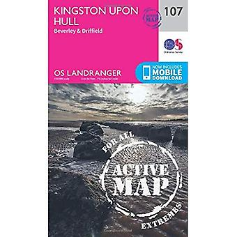 Kingston Upon Hull, Beverley & Driffield (OS Landranger Map)