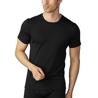 Mey Men 42402-123 Men's Mey Performance Black Short Sleeve Top