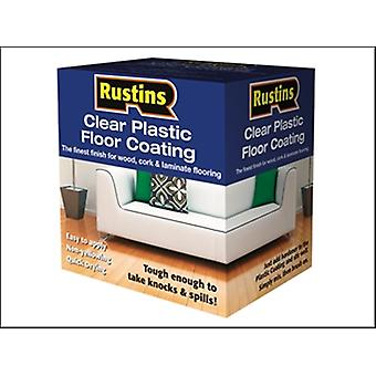 PLASTIC FLOOR COATING KIT GLOSS 4 LITRE