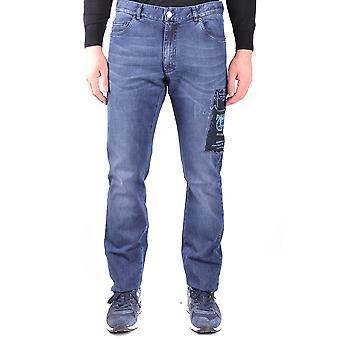 Paul & Shark Blue Cotton Jeans