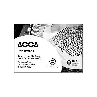 ACCA Corporate and Business� Law (Global): Passcards