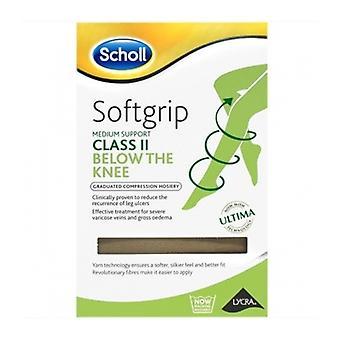 Scholl Softgrip C2 knie O/teen Nat Sml