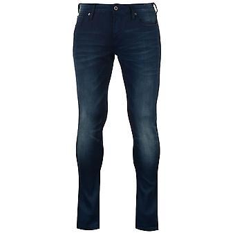 Scotch et Soda Trove Mens Jeans pantalons amples pantalons Bottoms Zip ajustement régulier
