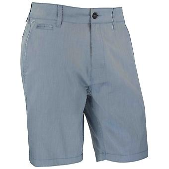 RVCA Mens Control OXO Hybrid Shorts - Federal Blue