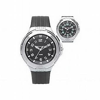 Kannibal aktive svart plast REM barnas Sports Watch CJ211-01