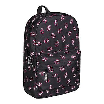 Rock Sax The Rolling Stones Union Jack Tongue Logo Backpack