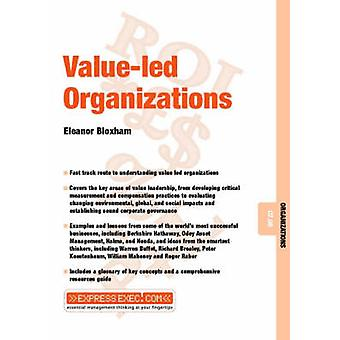 Value-Led Organizations by Eleanor Bloxham - 9781841123103 Book