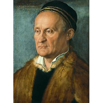 Jakob Muffel,Albrecht Durer,48x36cm