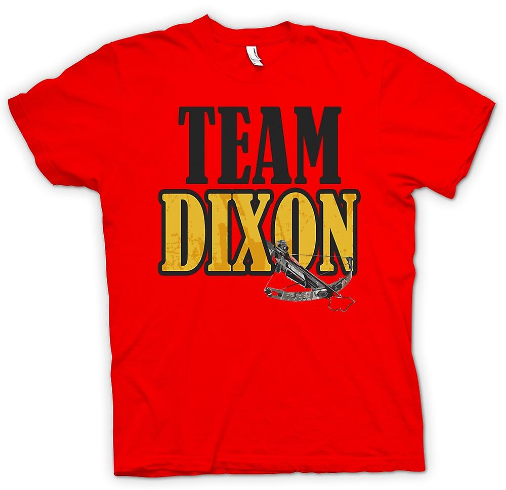 Mens T-shirt - Team Dixon - Crossbow - Funny