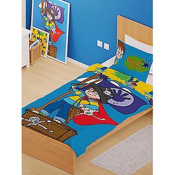 Horrid Henry Pirates Single Duvet Cover and Pillowcase Set