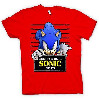 Bambini t-shirt-Sonic The Hedgehog - Mug Shot