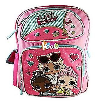 Backpack - L.O.L Surprise - w/Friends Pink New 164915