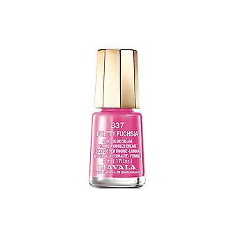 Mavala Mini Color Creme Nail Polish Pretty Fuchsia (337) 5ml