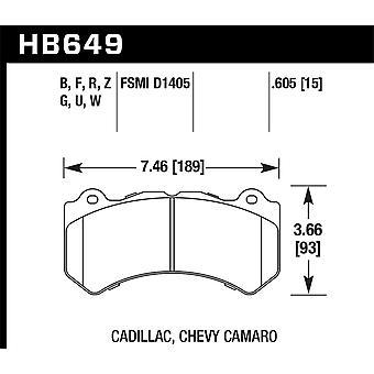 Hawk Performance HB649U.605 DTC-70
