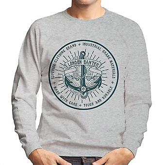London Banter Anchor Logo Men's Sweatshirt