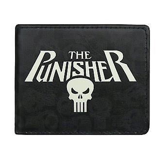 Punisher Logo und Symbole Bi-Fold Wallet
