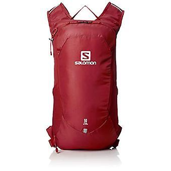 Salomon LC1085100 Trailblazer 10 Zaino Leggero da Escursionismo o Ciclismo - Rosso (Biking Red) - 10 l