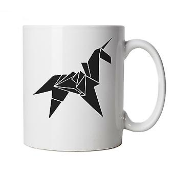 Origami Unicorn, Sci-Fi Movie Inspired Mug