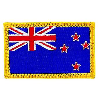 Patch Patch Patch Brode Flag New Zelande Flag Thermocollant Insigne Blason