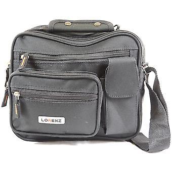 Canvas Style Multi-Functional Shoulder Bag / Cross Body Flight Work Travel Bag ( Khaki )