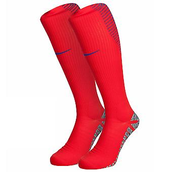 2016-2017 England Nike Home Socks (Red)