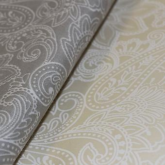 300 Thread 100% Cotton Sateen Paisley Print