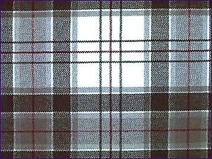 MacRae Grey Dress, Modern - Pure Wool Tartan