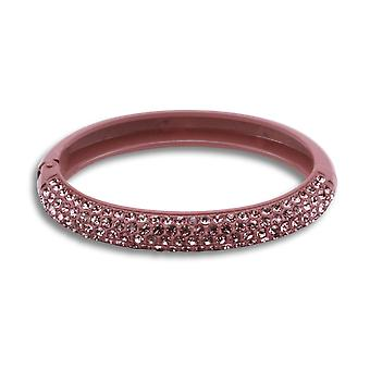 Aria sparkly baby pink bangle