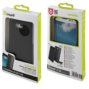 Muvit Funda minigel black lg l65 (Home , Electronics , Telephones , Accessories)