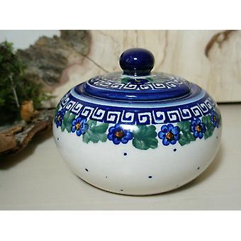 Sugar / jam jar, unique 52 - Bunzlau pottery tableware - BSN 6610