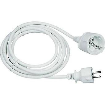 Current Extension cable [ PG plug - PG connector] 16 A White 3 m GAO 143201018