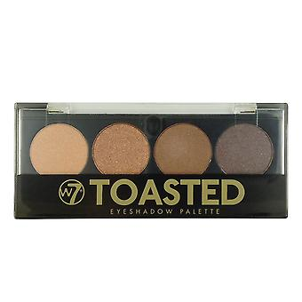 W7 Toasted 4 Colour Eyeshadow Palette