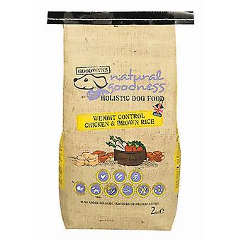 Goodwyns vægt kontrol Completechicken & brun ris 7,5 kg