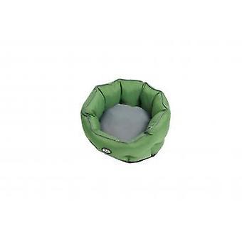 Buster Premium Cocoon Bed artiskok grøn/stål grå 65cm