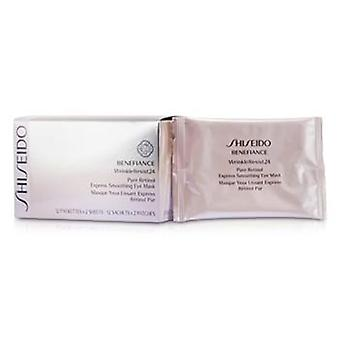 Shiseido Benefiance WrinkleResist24 czystego retinolu Express wygładzania Eye Mask - 12pairs