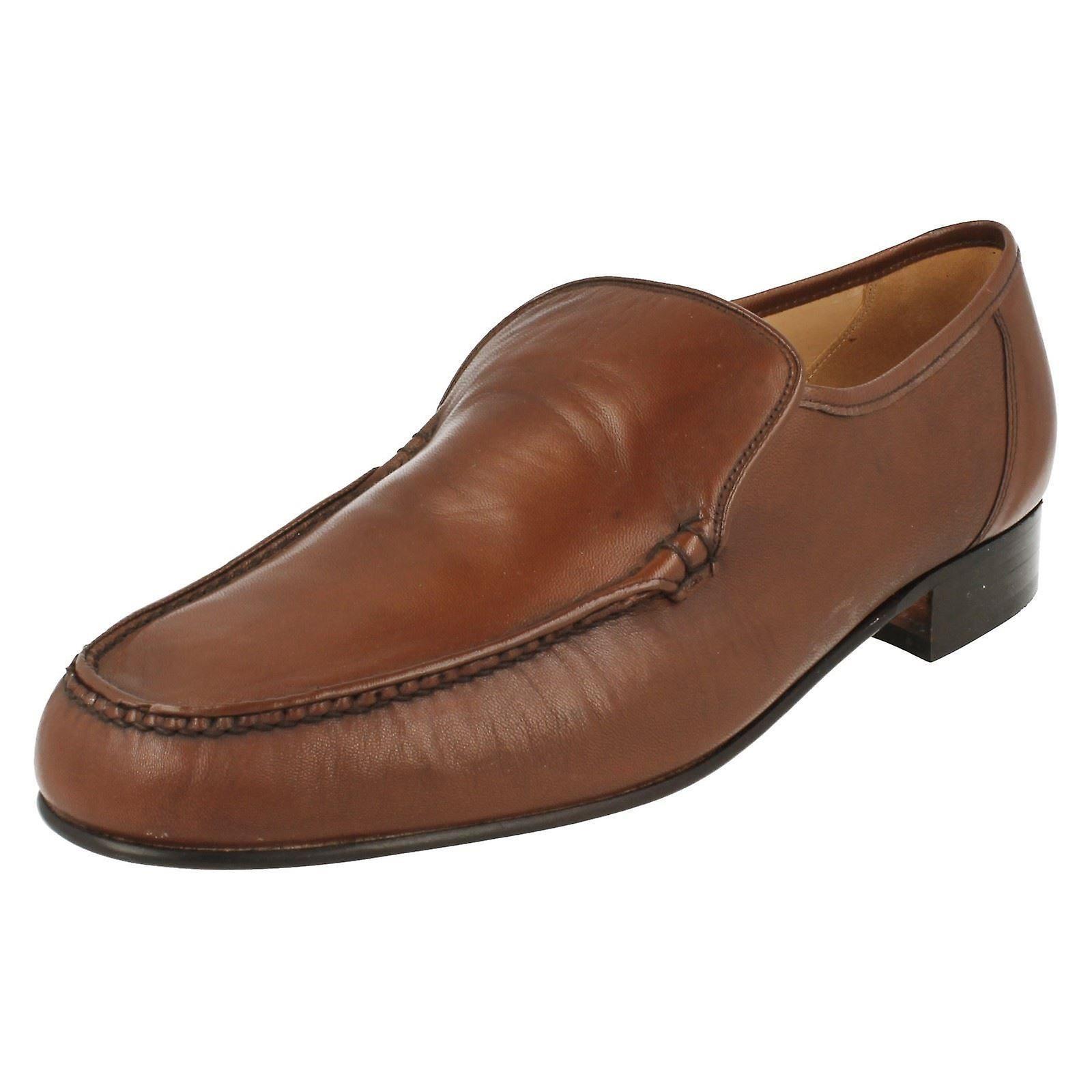 Mens Grenson Mokassin Slip-on Schuhe Illinois